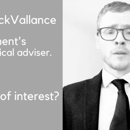 Statement from Government's chief scientific adviser, Sir Patrick Vallance.   Andrew Lawrence