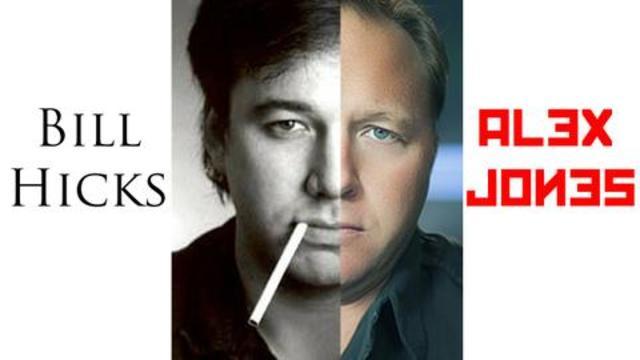 Alex Jones Is Bill Hicks?