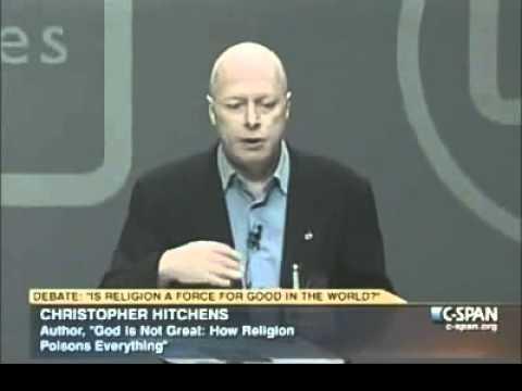Christopher Hitchens Debates Tony Blair