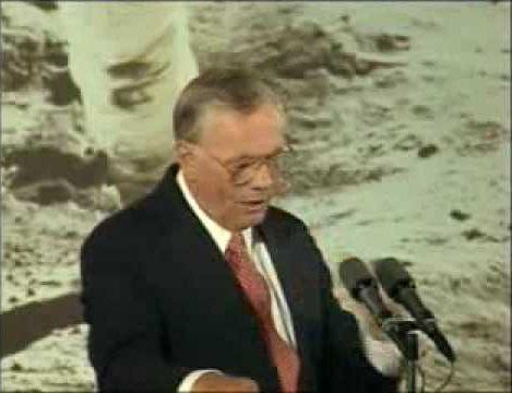 Armstrong: Apollo 11 25th Anniversary Speech | TheApollo11Channel