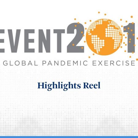 Event 201 Pandemic Exercise: Highlights Reel | Event 201