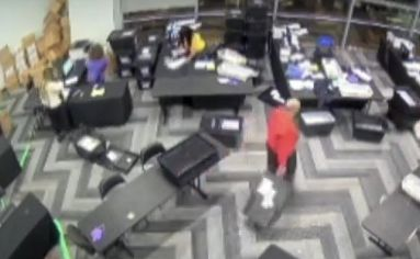 """""""This Needs Answers"""": CCTV Video Of Georgia Poll Workers Sparks Election Fraud Outrage 