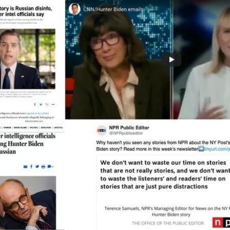 """Hunter Biden Criminal Probe: Let's Review Media Outlets That Peddled """"Russian Disinformation Lie"""" - Glenn Greenwald"""