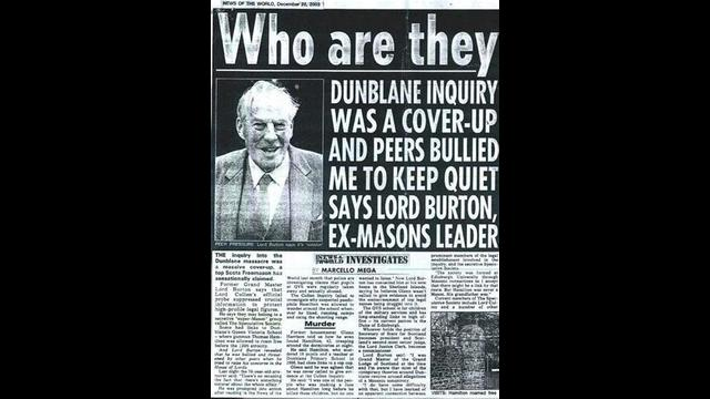 The Dunblane Massacre And The Masonic Cover-Up