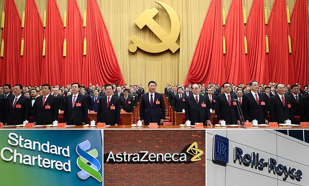 Leaked files expose mass infiltration of UK firms by Chinese Communist Party | Daily Mail Online