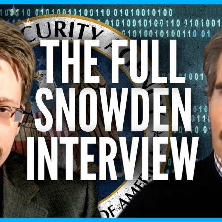 The FULL Snowden Interview | John Stossel