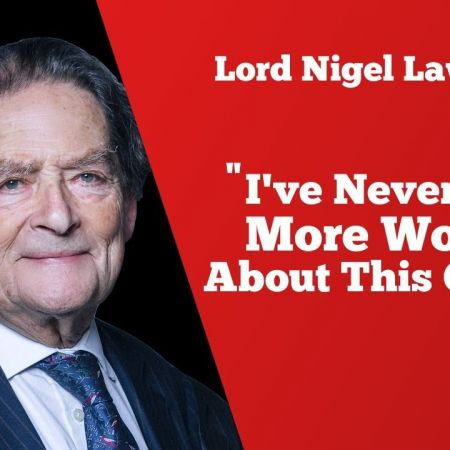 "Lord Nigel Lawson: ""I've Never Been More Worried About This Country"" 