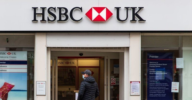 HSBC Says Customers Who Don't Wear Face Masks Could Have Their Accounts Terminated | Summit News