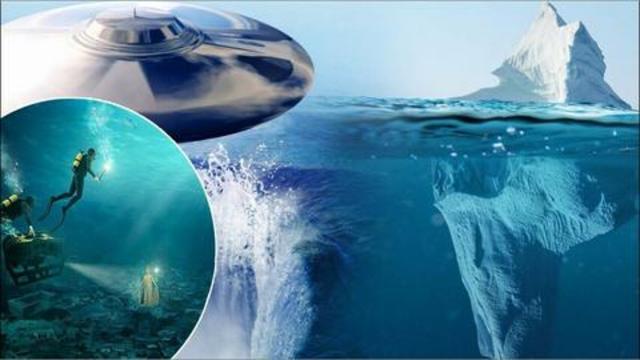 Atlantis and Lake Vostok