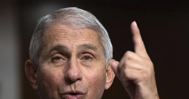 Anthony Fauci: We've Got to Get the 'Entire World Vaccinated' | Breitbart