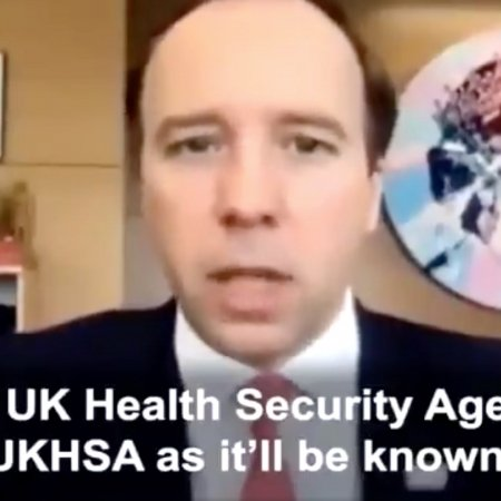 """The_Void on Twitter: """"Hancock: """"I want everybody at UKHSA to wake up everyday with a zeal to plan for the next pandemic."""""""