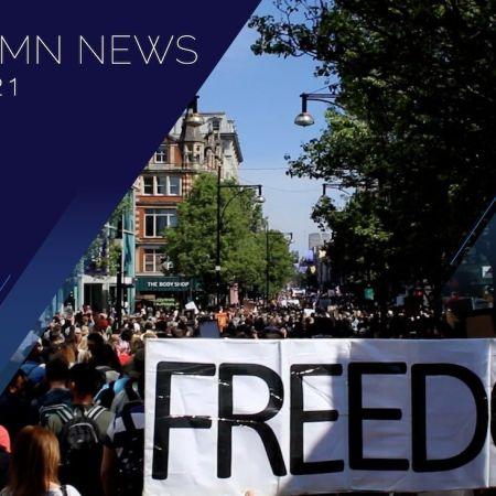 Huge London Protests, Media Silence & Propaganda | UK Column