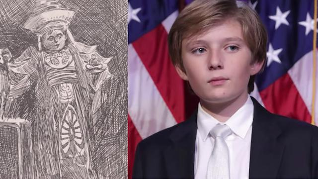 Is President Trump A Time Traveler ?